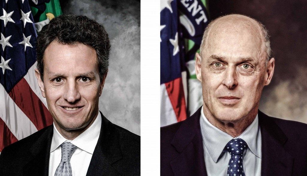 Timothy Geitner Henry Paulson